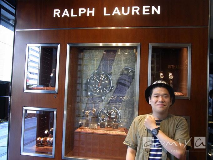 ラルフ ローレン サファリRL67 クロノメーター 45mm RLR0220900