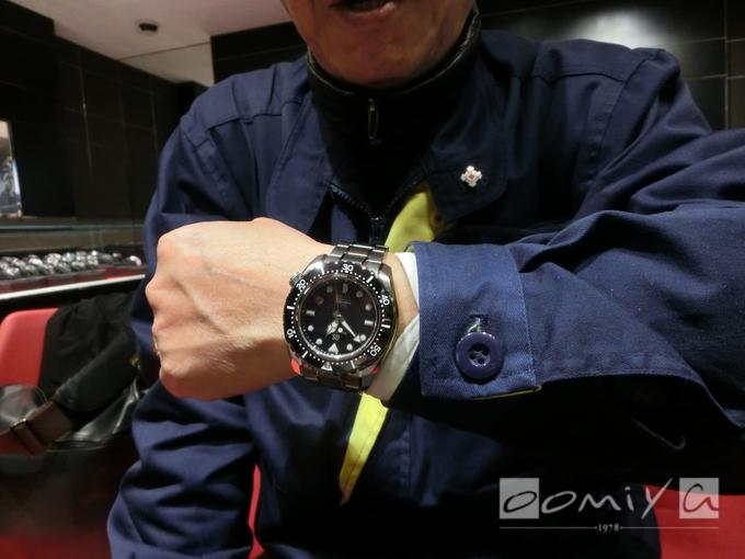 グランドセイコー メカニカルハイビート36000 プロフェッショナルダイバーズ600M リミテッドエディション SBGH257