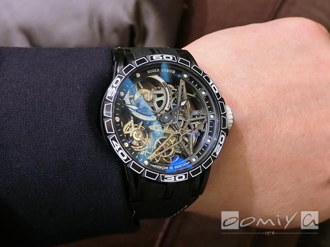 ロジェ・デュブイ エクスカリバー スパイダー ピレリ オートマティック スケルトン RDDBEX0705