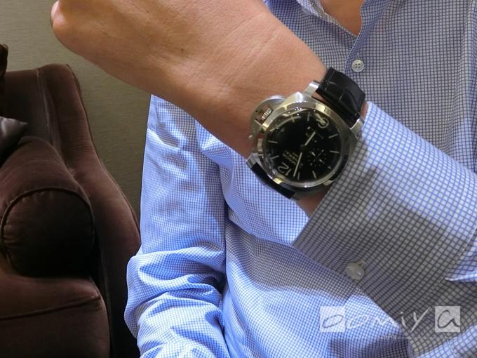 パネライ ルミノール1950 8デイズ GMT PAM00233