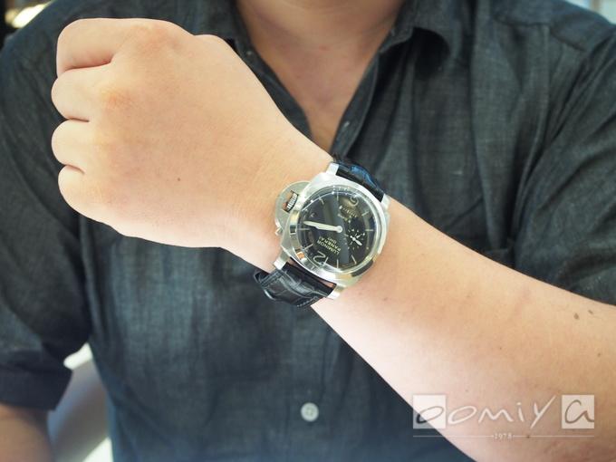 パネライ ルミノール 1950 8デイズ GMT PAM00233