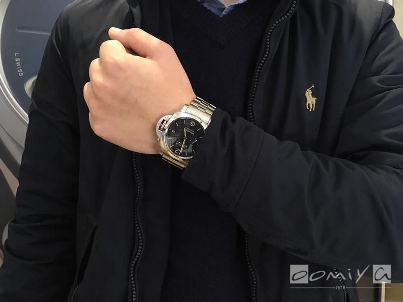 パネライ ルミノール マリーナ 1950 3デイズ オートマティック アッチャイオ PAM00722