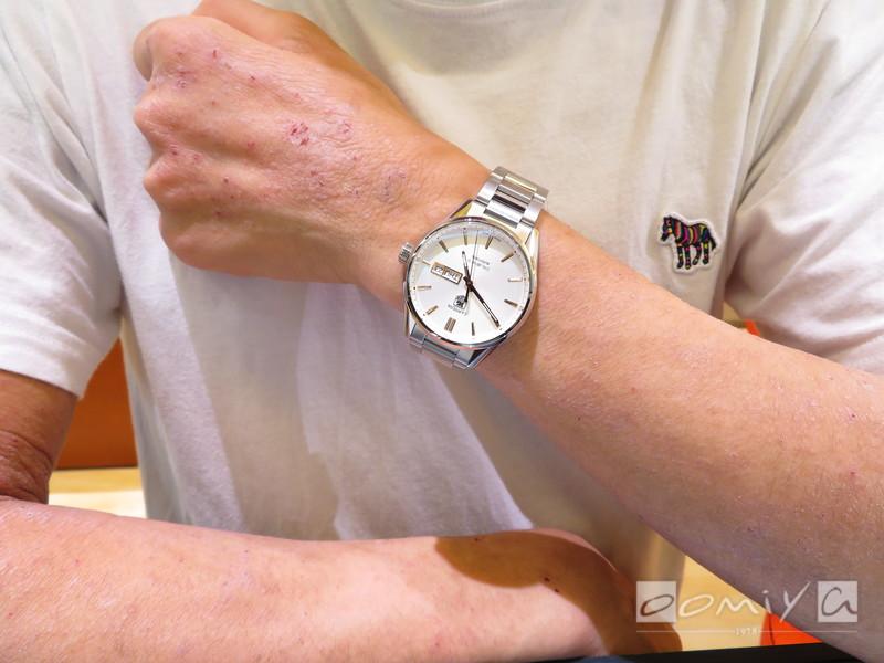タグ・ホイヤー カレラ キャリバー5 デイデイト WAR201D.BA0723