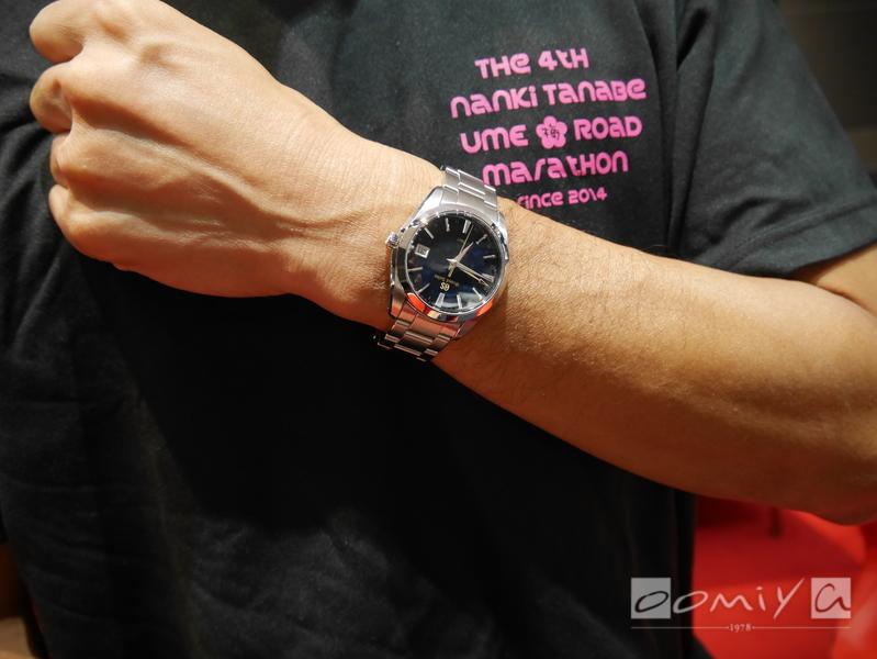 グランドセイコー クオーツウオッチ誕生50周年記念モデル SBGN009