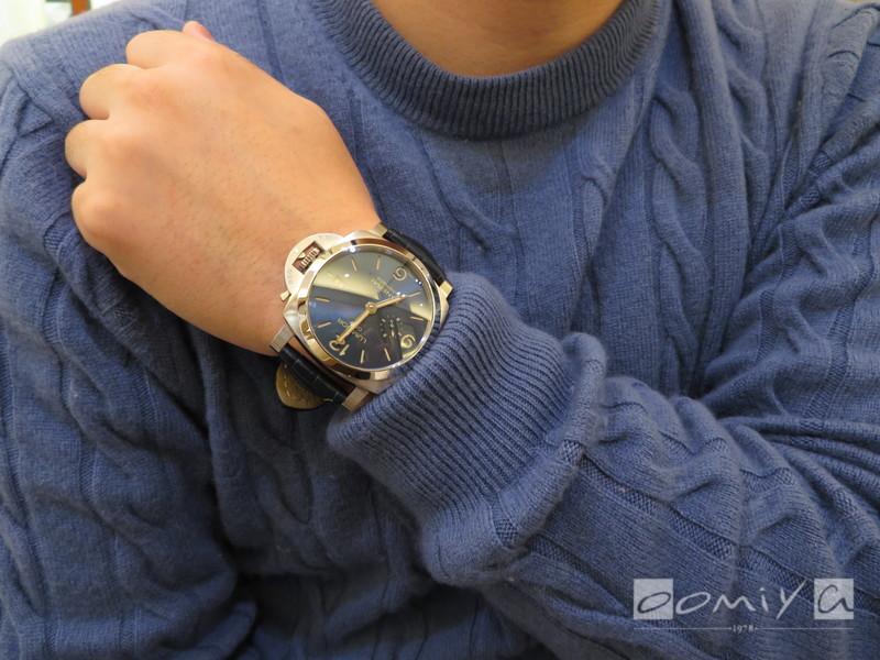 パネライ ルミノール GMT PAM01033
