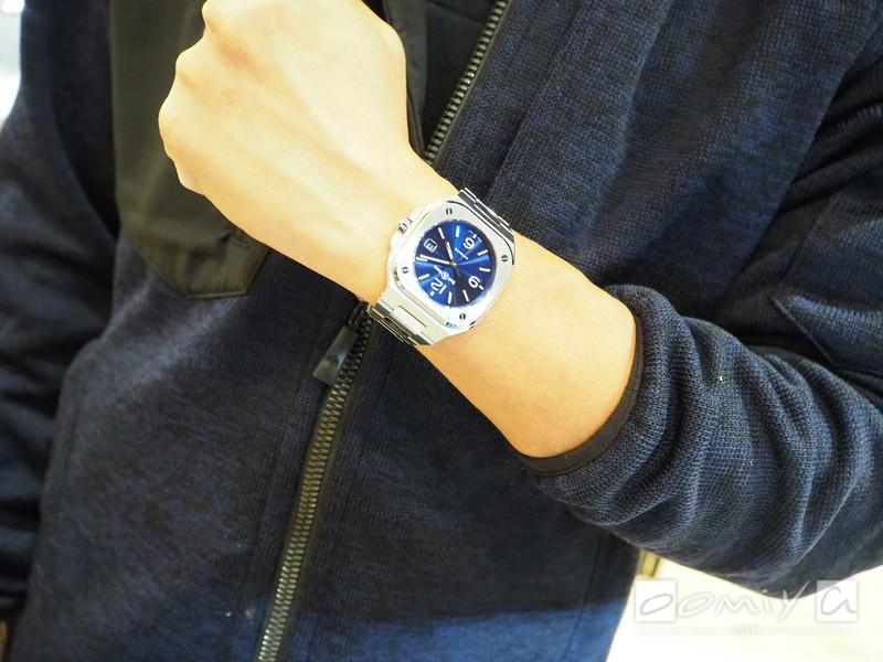 ベル&ロス BR 05 BLUE STEEL BR05A-BLU-ST/SST