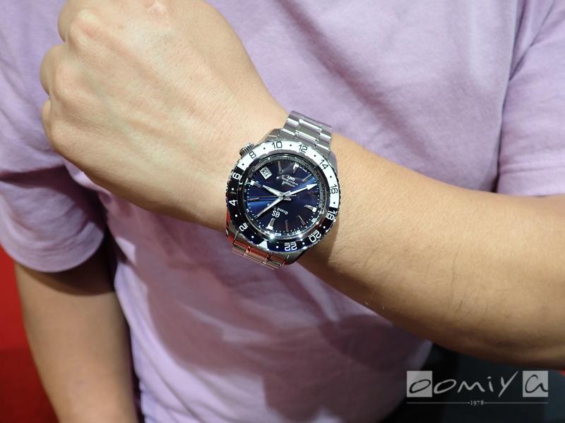 グランドセイコー 9Sメカニカル ハイビート36000 GMT SBGJ237