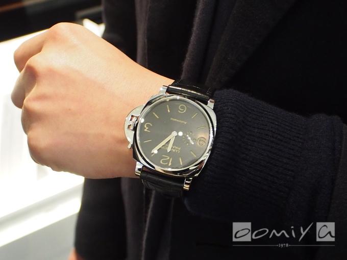 パネライ ルミノール ドゥエ 3デイズ オートマティック アッチャイオ PAM00674