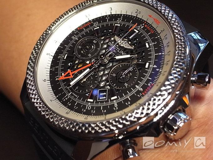 ブライトリング・フォー・ベントレー ベントレーB04 GMT A043B69ERC