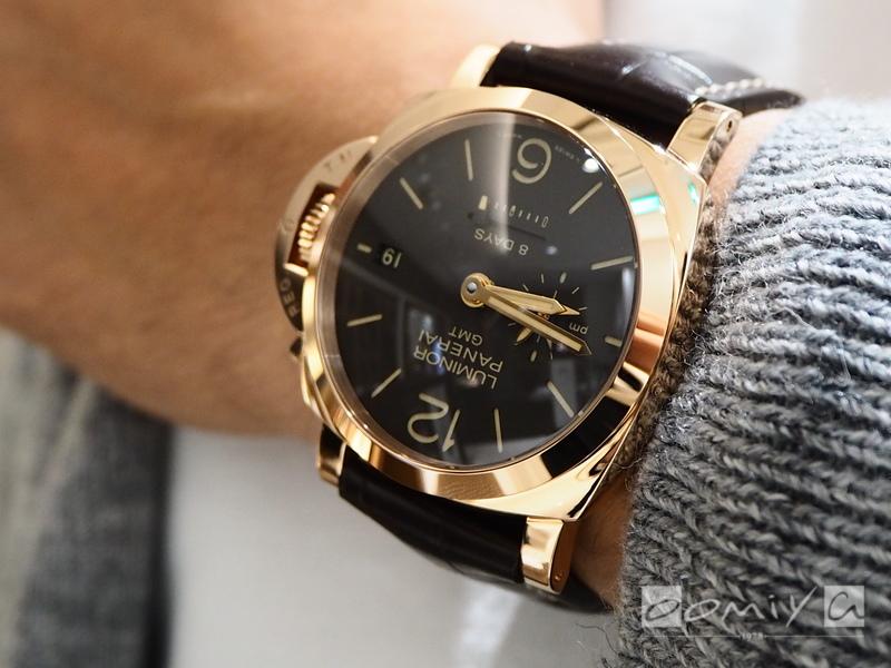 パネライ ルミノール 1950 8デイズ GMT オロロッソ PAM00576