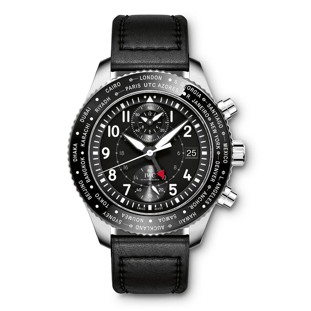 IWC|パイロット・ウォッチ・タイムゾーナー・クロノグラフ IW395001