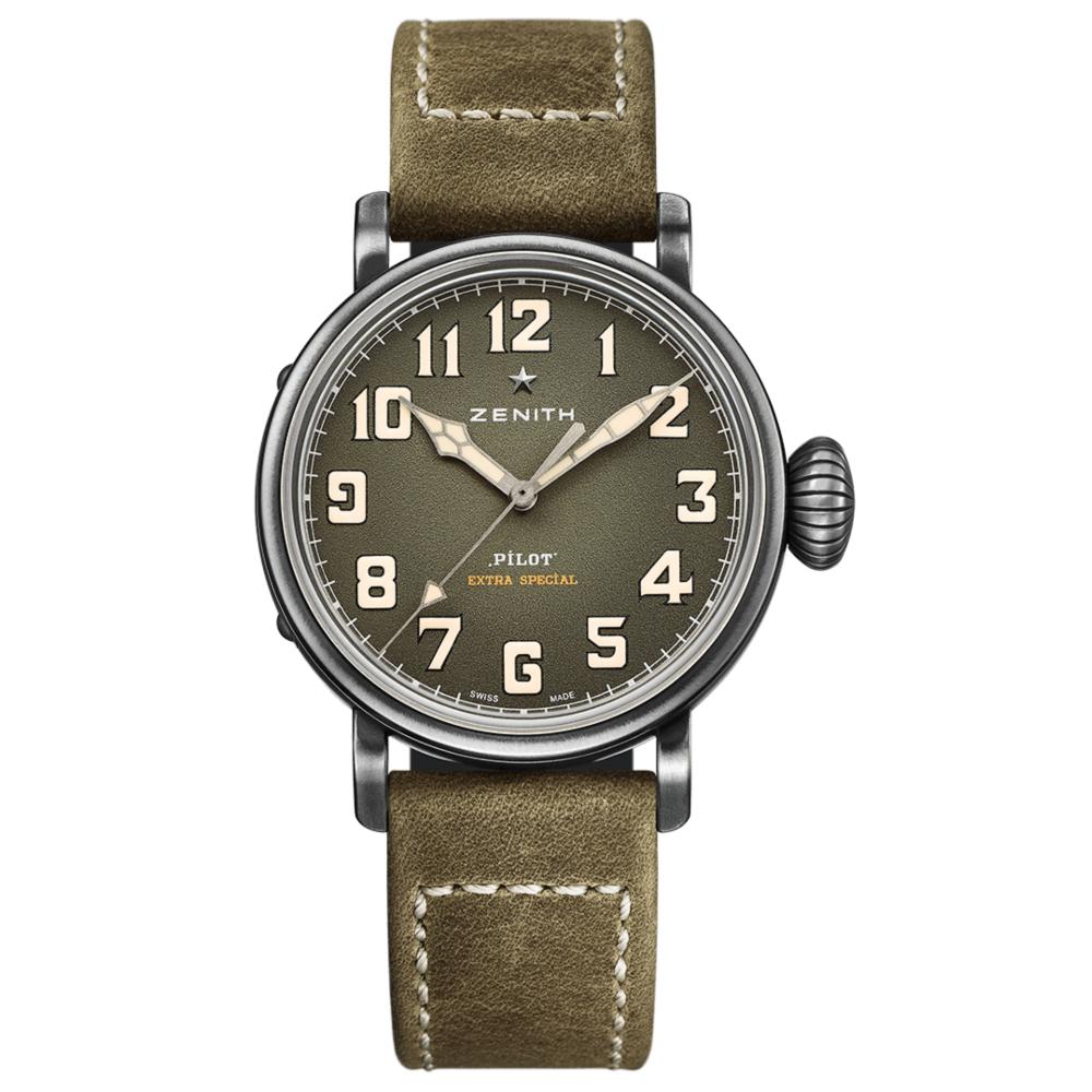 ゼニス パイロット タイプ20 エクストラスペシャル 40mm - 11.1943.679/63.C800