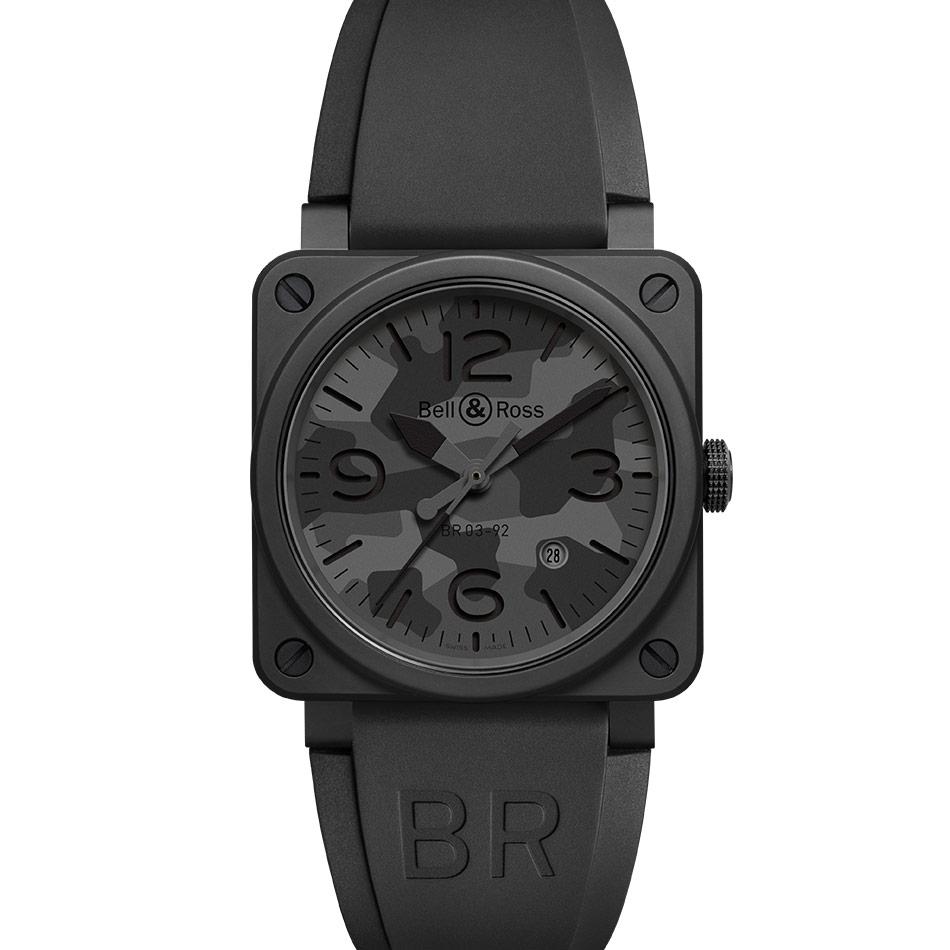 BR 03-92 BLACK CAMO