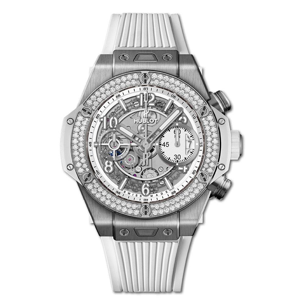 ビッグ・バン ウニコ チタニウム ホワイト ダイヤモンド