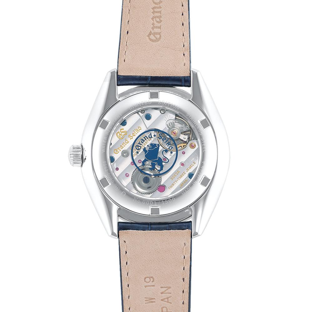 グランドセイコー Elegance Collection 限定モデル ステンレスケース ブルーダイヤル - SBGK005