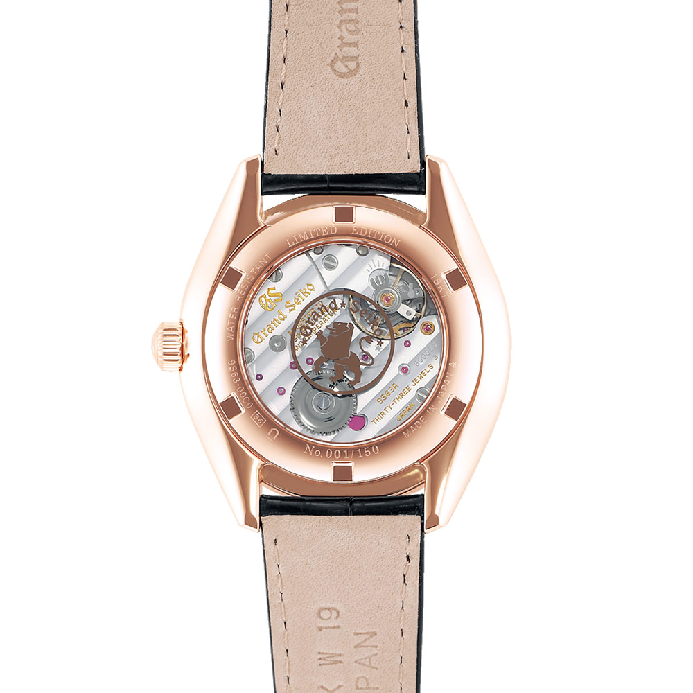 グランドセイコー|Elegance Collection 限定モデル 18Kゴールドケース 漆ダイヤル - SBGK004