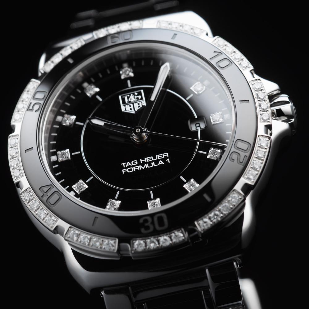 タグ・ホイヤー|フォーミュラ1 ダイヤモンド スティール&セラミック WAH1312.BA0867
