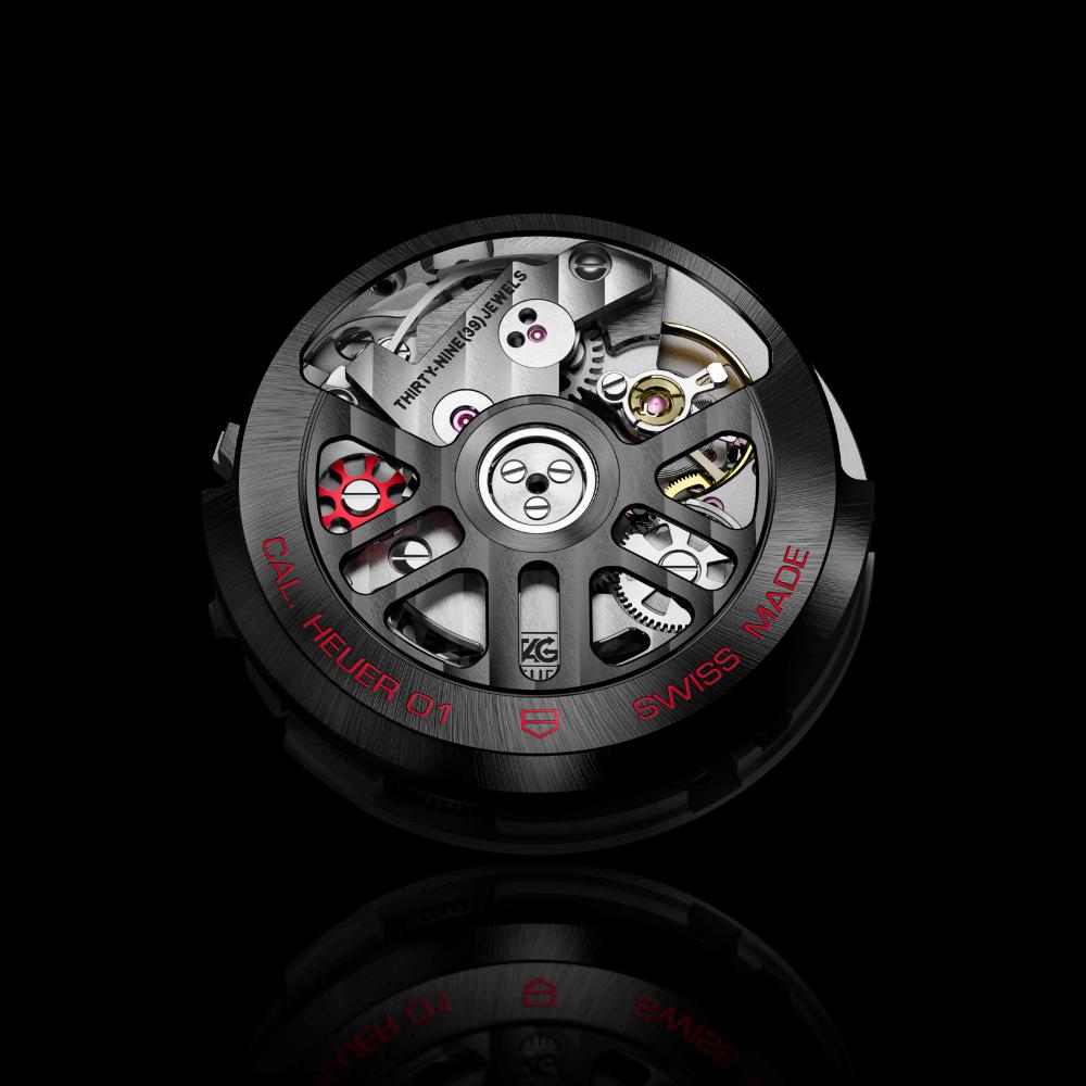 タグ・ホイヤー|カレラ キャリバー ホイヤー01 クロノグラフ 43mm - CAR201Z.FT6046