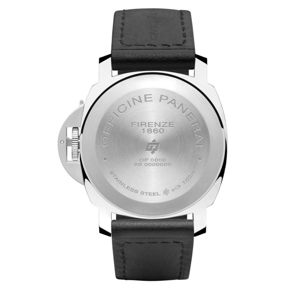 PAM01000 - ルミノール ベース ロゴ アッチャイオ|パネライ