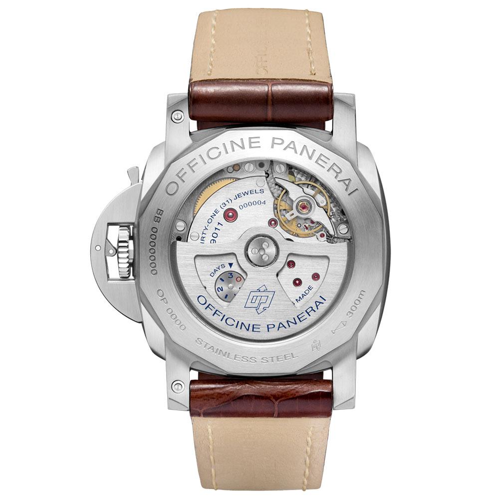 パネライ|ルミノール 1950 3デイズ GMT オートマティック アッチャイオ - PAM01320