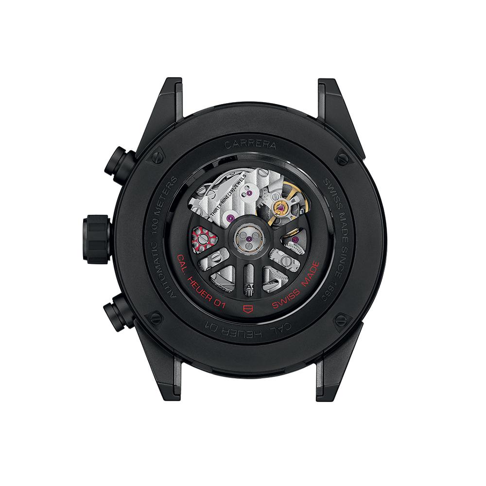 タグ・ホイヤー カレラ キャリバー ホイヤー01 フルブラック マットセラミック - CAR2A91.BH0742