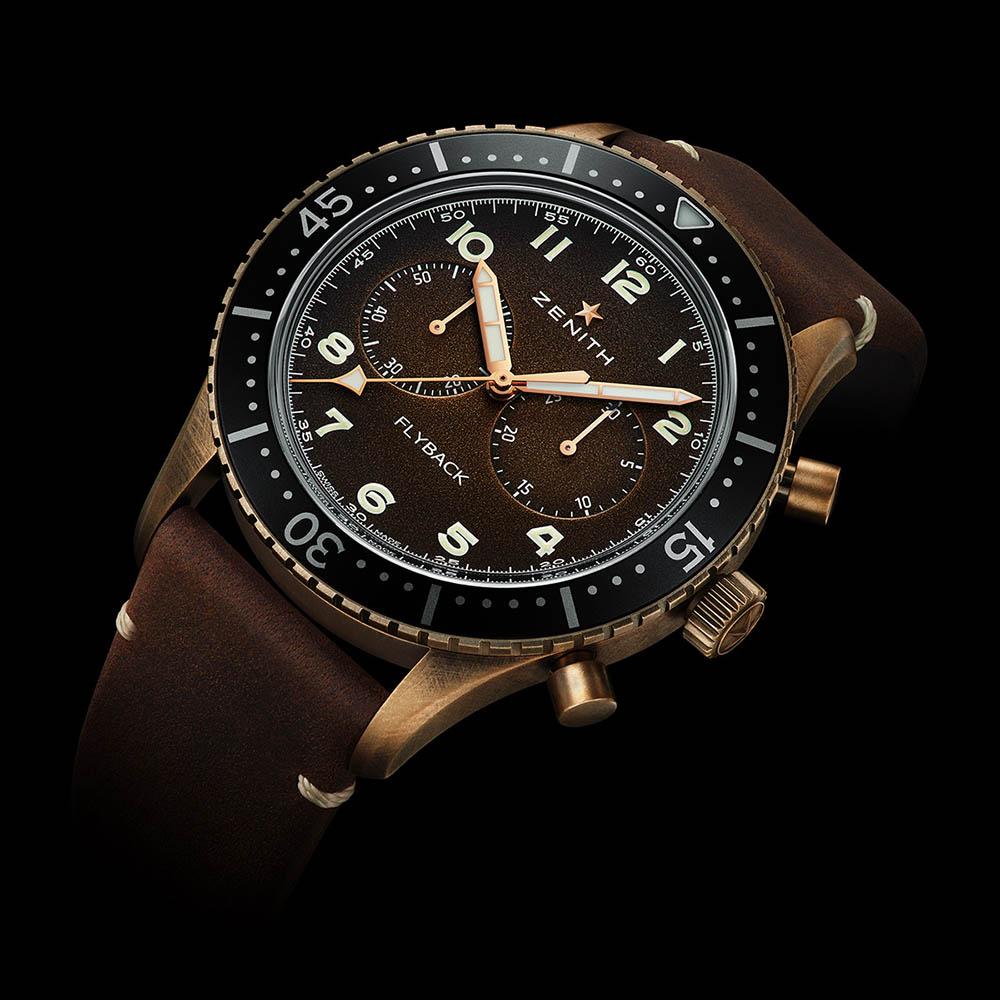 ゼニス|パイロット クロノメトロ TIPO CP-2 フライバック - 29.2240.405/18.C801