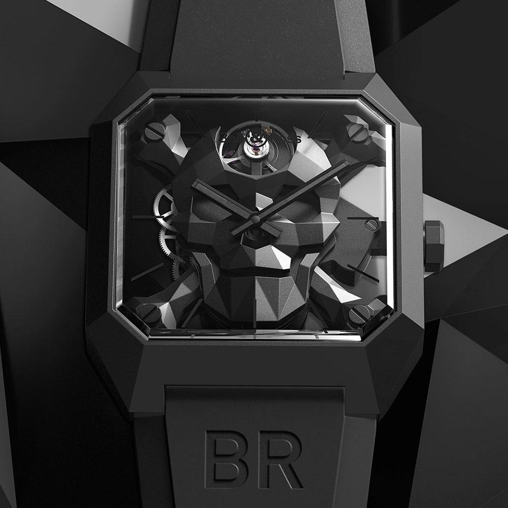 ベル&ロス BR 01 CYBER SKULL - BR01-CSK-CE/SRB
