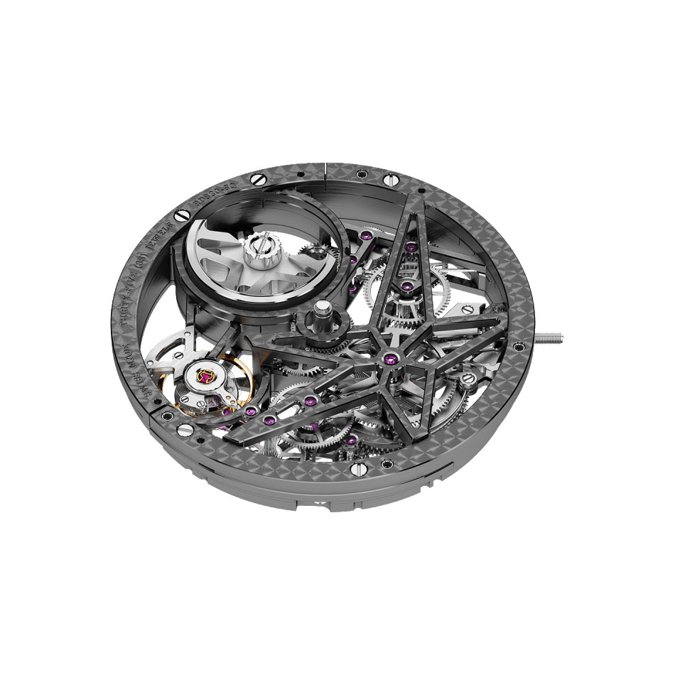 ロジェ・デュブイ エクスカリバー42 オートマティック スケルトン RDDBEX0473