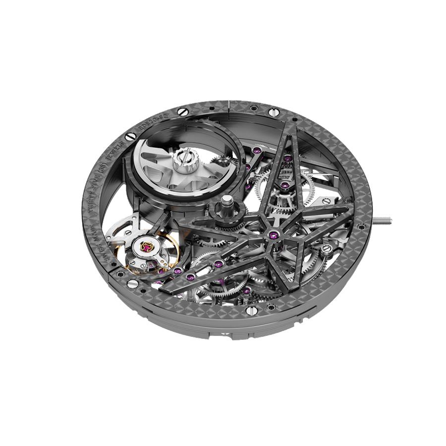 ロジェ・デュブイ エクスカリバー スパイダー ピレリ オートマティック スケルトン - RDDBEX0696