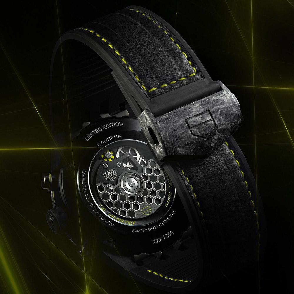 タグ・ホイヤー|カレラ キャリバー ホイヤー02T トゥールビヨン ナノグラフ - CAR5A8K.FT6172