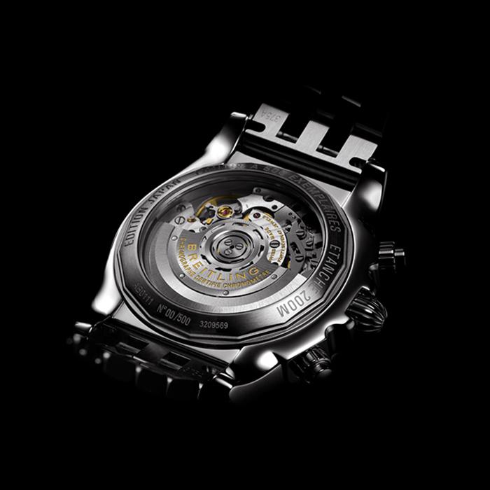 ブライトリング|クロノマット44 ブラック マザー オブ パール - S011BMPPA