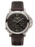 ルミノール 1950 クロノ モノプルサンテ 8デイズ GMT チタニオ
