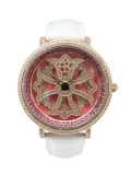 LILY 46MM PINK×GOLD (WHITE BELT)