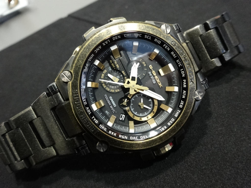 G-SHOCK 2014年新作 MTG-S1000BS-G-SHOCK