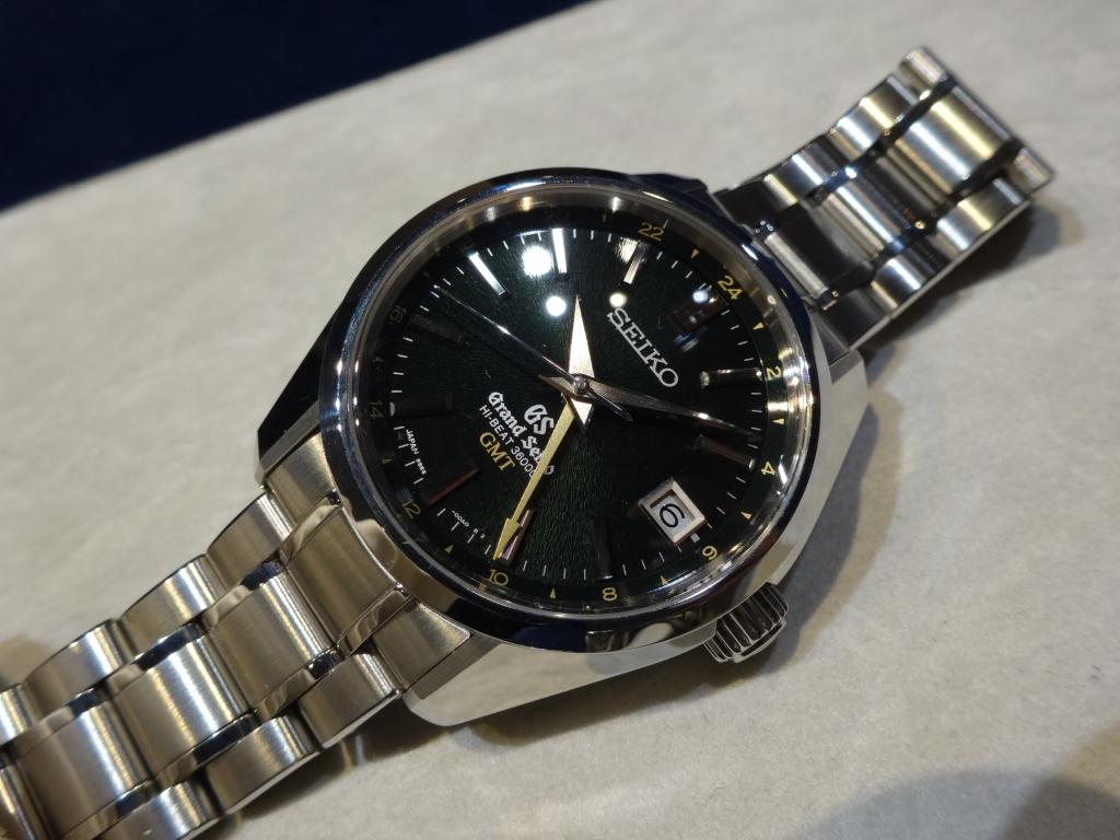 グランドセイコー 2104年新作 メカニカルハイビート36000 GMT SBGJ005