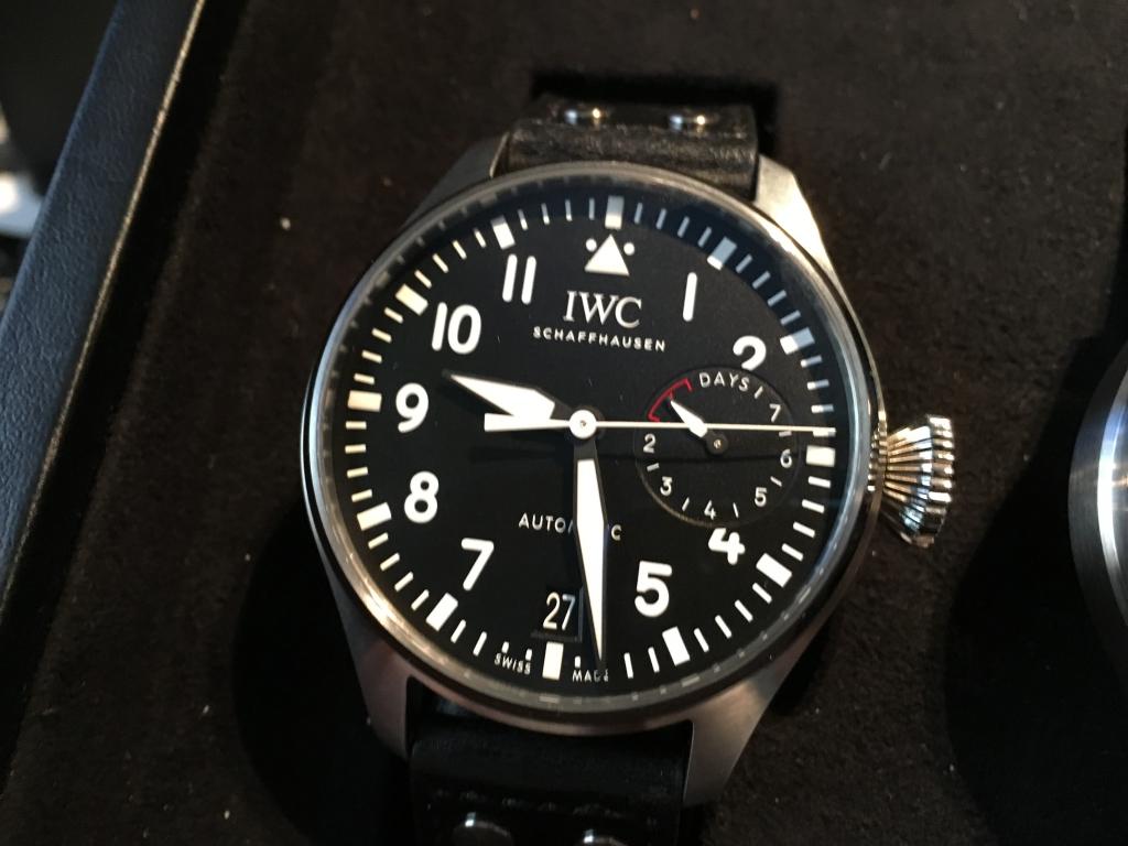 IWC 2016年新作 ビッグ・パイロット・ウォッチ IW500912