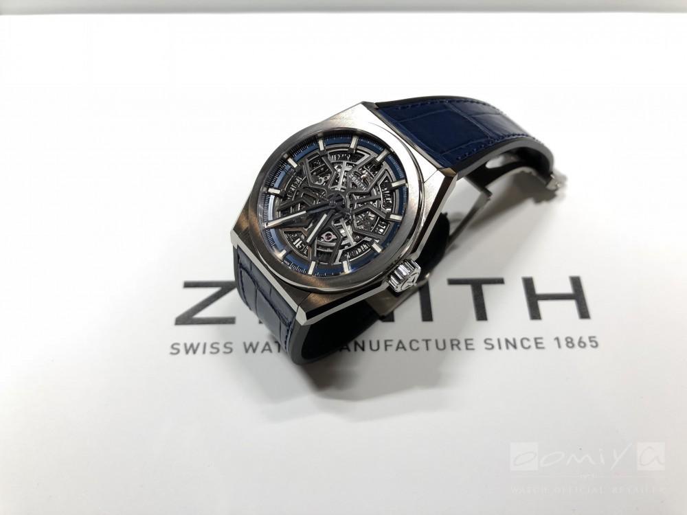 ゼニス 2018年新作モデル デファイ クラシック 41mm|スケルトン文字盤-ZENITH