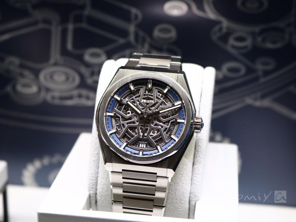 timeless design 7b524 005b5 ゼニス 2018年新作モデル デファイ クラシック 41mm|スケルトン ...
