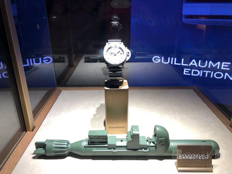 パネライ 2019年新作 サブマーシブル マリーナ ミリターレ カーボテック™  47mm PAM00979-PANERAI