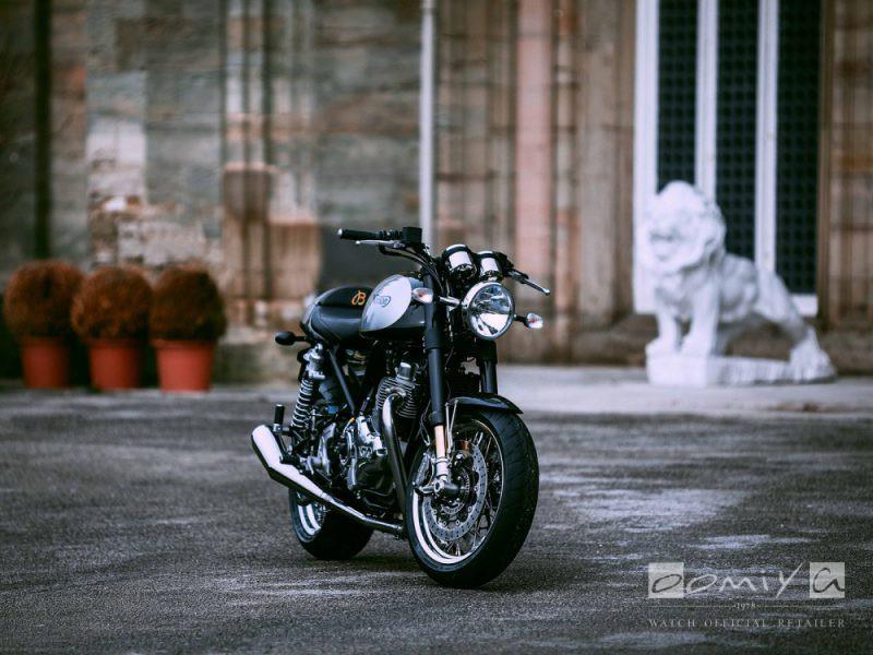 2019年新作モデル 英国モーターサイクル ノートンとのパートナーシップにより誕生した特別仕様のプレミエ-BREITLING