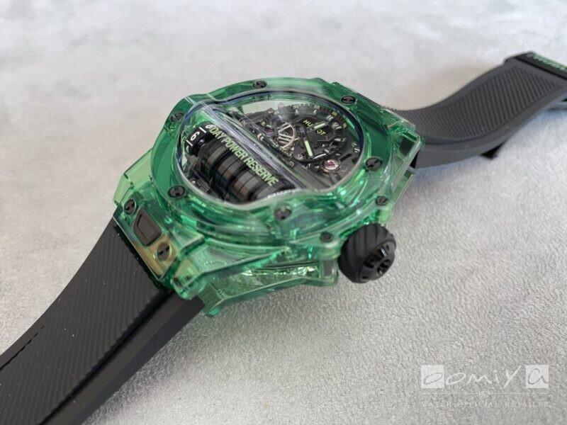 ウブロ 2020年新作 ビッグ・バン MP-11 グリーンSAXEM/レッドセラミック-HUBLOT