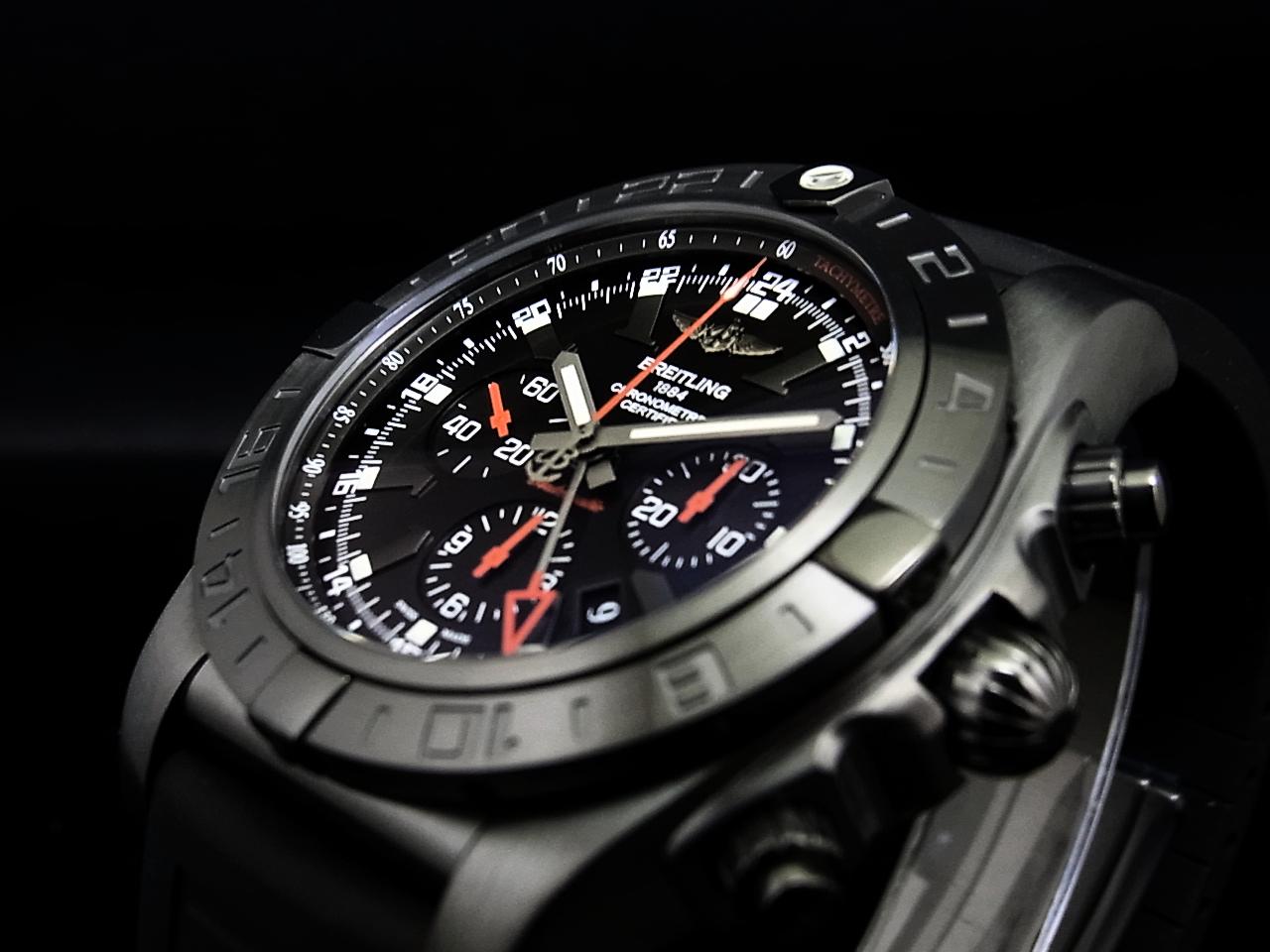 ブライトリング 2013年新作 CHRONOMAT GMT BLACKSTEEL