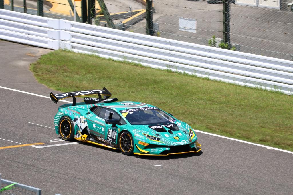 8868 ランボルギーニ・スーパートロフェオ・アジア 2018 鈴鹿サーキット Race1|チーム和歌山  HOJUST RACING