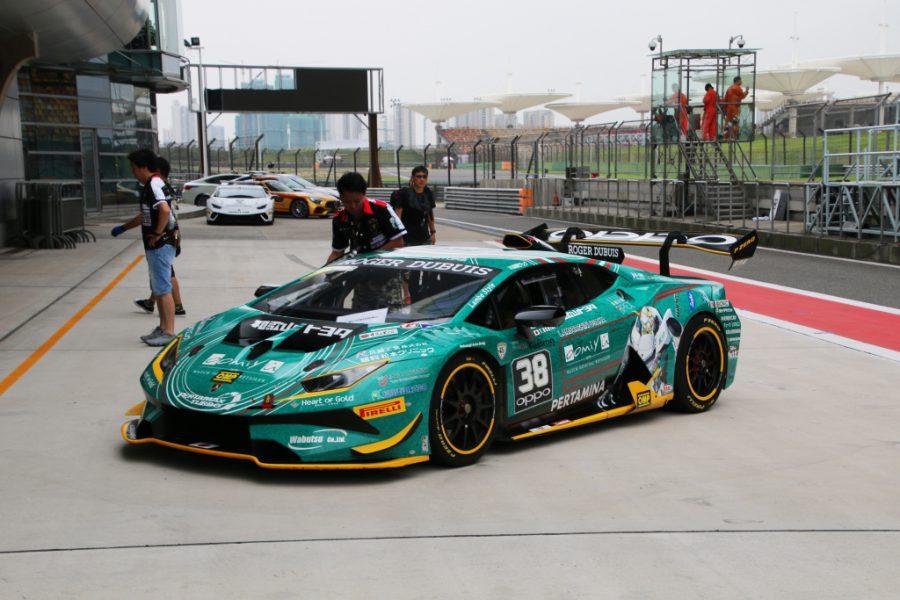 ランボルギーニ・スーパートロフェオ・アジア 2018 上海インターナショナル・サーキット Race1 チーム和歌山 HOJUST RACING