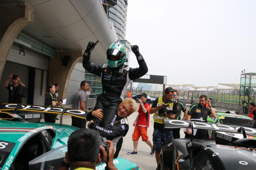 IMG_0510-1 ランボルギーニ・スーパートロフェオ・アジア 2018 上海インターナショナル・サーキット Race2 チーム和歌山 HOJUST RACING