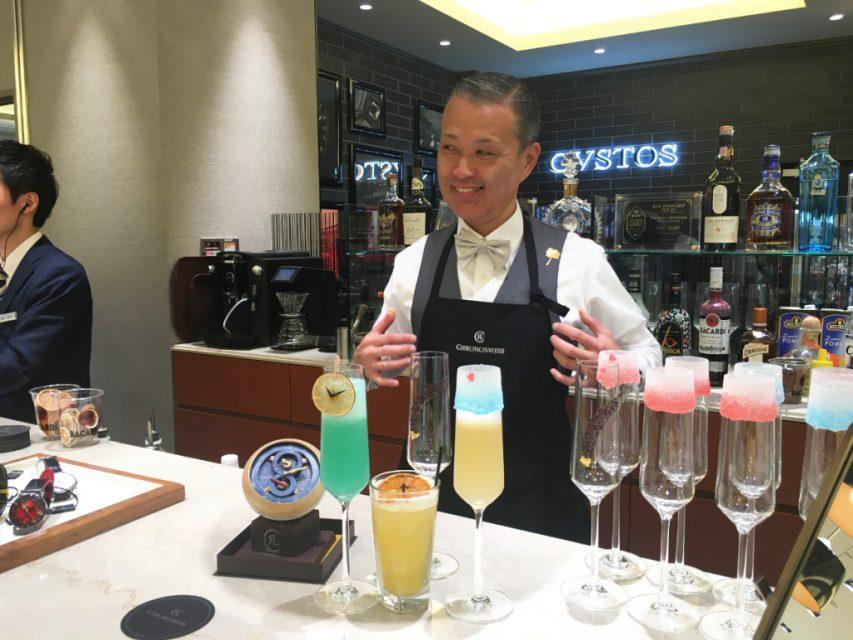 <クロノスイス カクテル ナイト&デイ>イベントリポート|oomiya 大阪心斎橋店