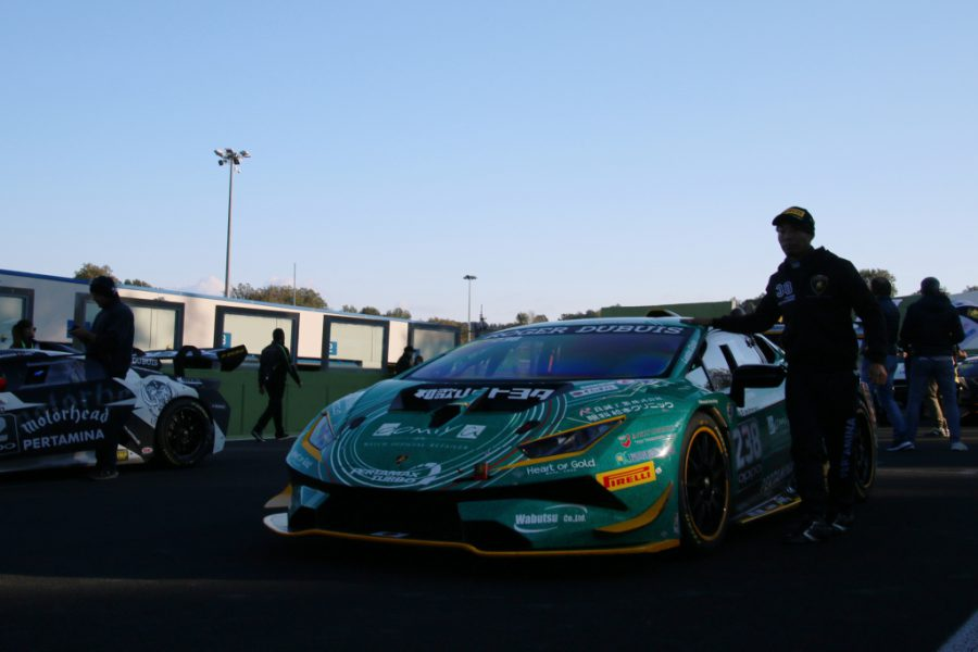 ランボルギーニ・スーパートロフェオ・ワールドファイナル 2018 レース1 チーム和歌山 HOJUST RACING