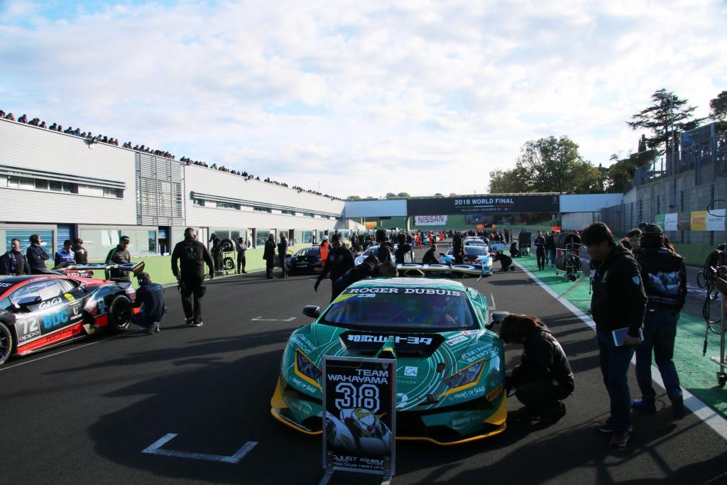 IMG_1345 ランボルギーニ・スーパートロフェオ・ワールドファイナル 2018 レース2|チーム和歌山 HOJUST RACING