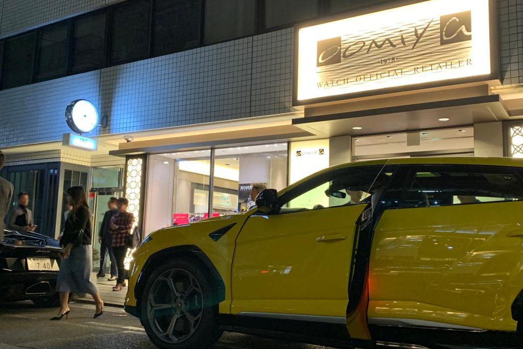 """IMG_7583_0 <ロジェ・デュブイ """"Raging Mechanics""""at oomiya 大阪心斎橋店>イベントリポート"""