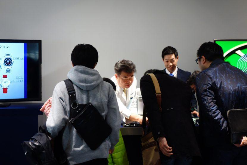 DSC02320-830x554 「グランドセイコー スペシャルデイ」イベントリポート| 「現代の名工」平賀 聡 氏によるムーブメント組み立て実演